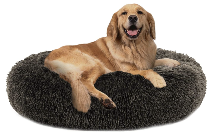 Your pup will love this donut bed. (Photo: Amazon)