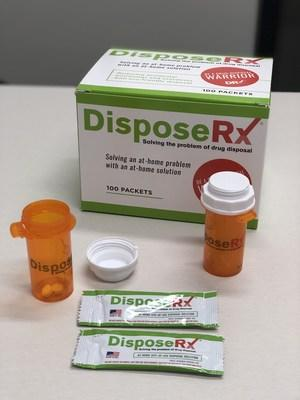 Beginning in 2020, CVS Pharmacy will offer a simple and safe drug disposal solution to aid in fight against opioid misuse. (PRNewsfoto/CVS Health)