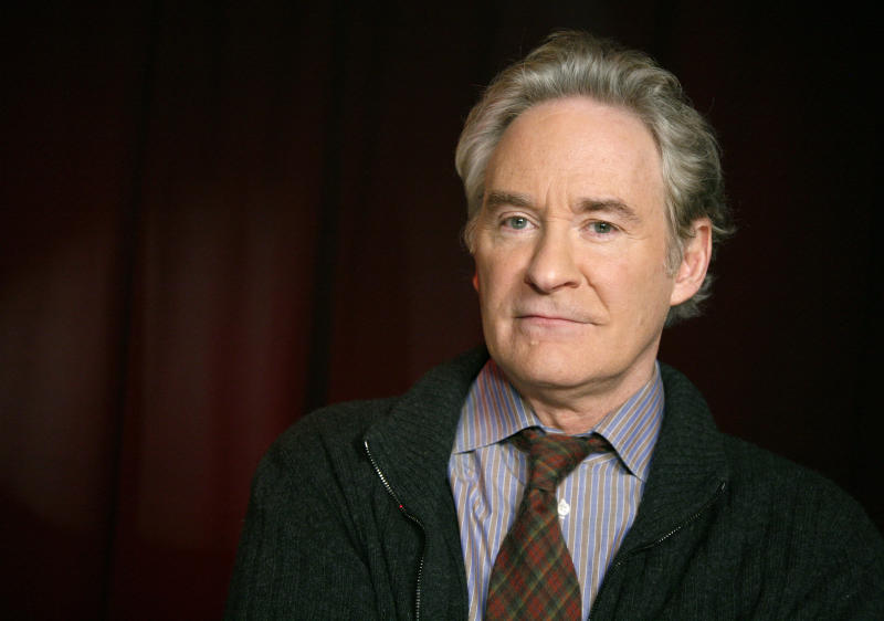 FILE - In this March 23, 2011 file photo, actor Kevin Kline poses for a portrait in New York. Kevin Kline will play Romeo opposite Meryl Streep's Juliet for a one-night-only staged reading of Shakespeare's play in Central Park. The Public Theater said Tuesday that Streep and Kline will combine on June 18 to help celebrate the 50th anniversary of its Shakespeare in the Park series. (AP Photo/Jeff Christensen, file)