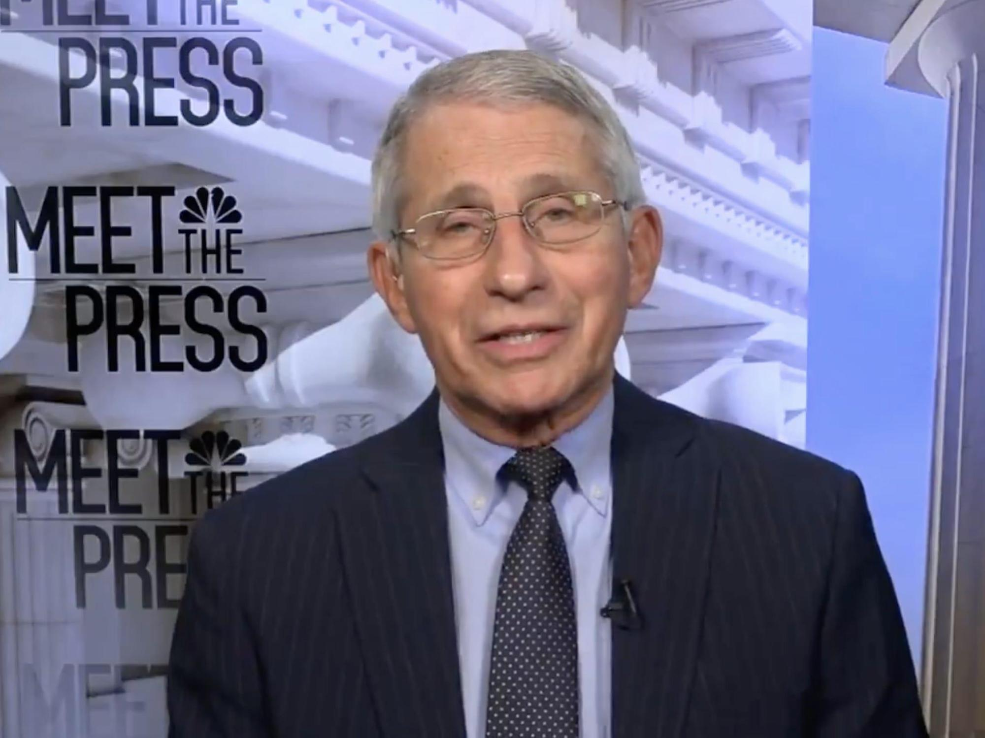 Fauci says a COVID-19 booster shot is a 'public health decision' and not up to companies like Pfizer and Moderna