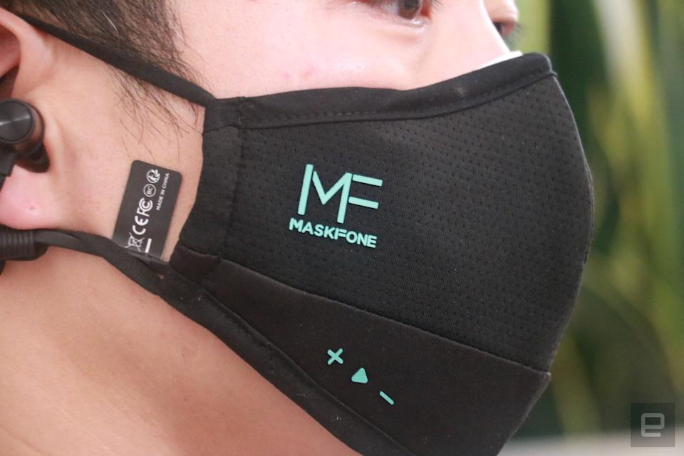 Maskfone hands-on