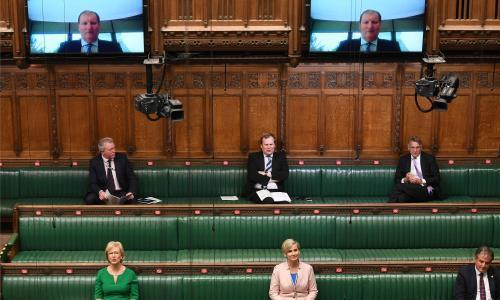 MPs in growing revolt over plan for 2 June Commons return