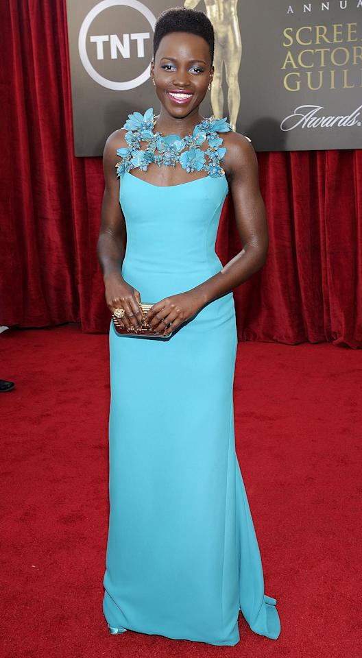 The Brightest, Boldest SAG Awards Red Carpet Gowns of All Time