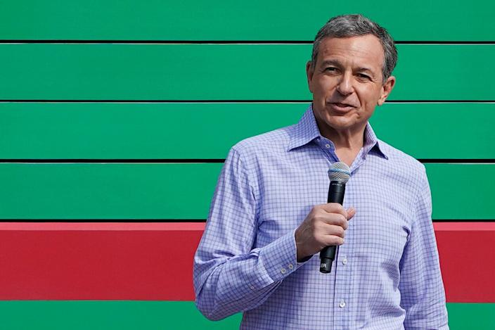 Disney's Chief Executive Officer Bob Iger attends the opening event of Disney-Pixar Toy Story Land, the seventh themed land in Shanghai Disneyland in Shanghai, China April 26, 2018. REUTERS/Aly Song