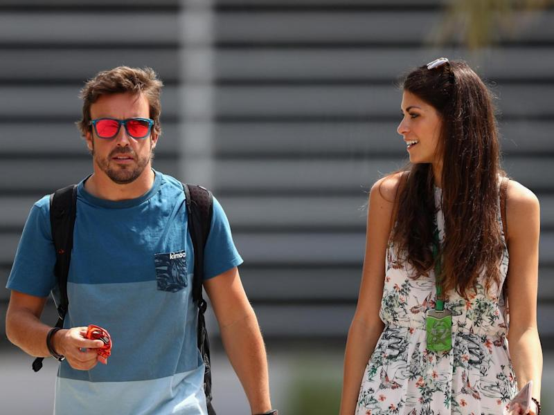 Alonso has insisted his future remains in Formula One (Getty )
