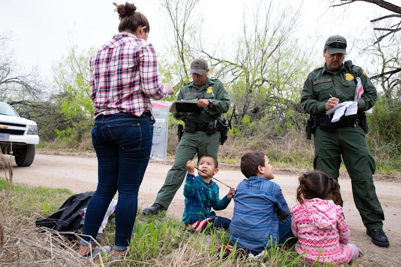 The number of families crossing into the United States is driving the largest number apprehensions at the southern border since 2005.