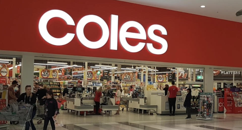 Coles at Epping Plaza is pictured.