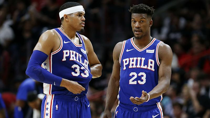 76ers' Butler, Harris address impending free agency