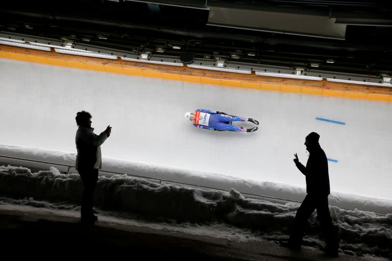 Luge-U.S. team sitting out World Cup events in Europe due to COVID-19