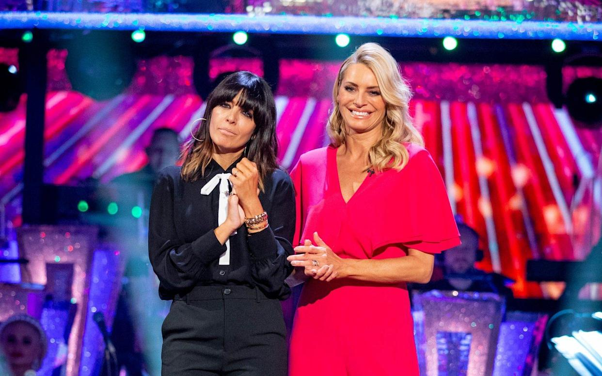 Claudia Winkleman and Tess Daly - WARNING: Use of this copyright image is subject to the terms of use of BBC Pictures' Digital Picture