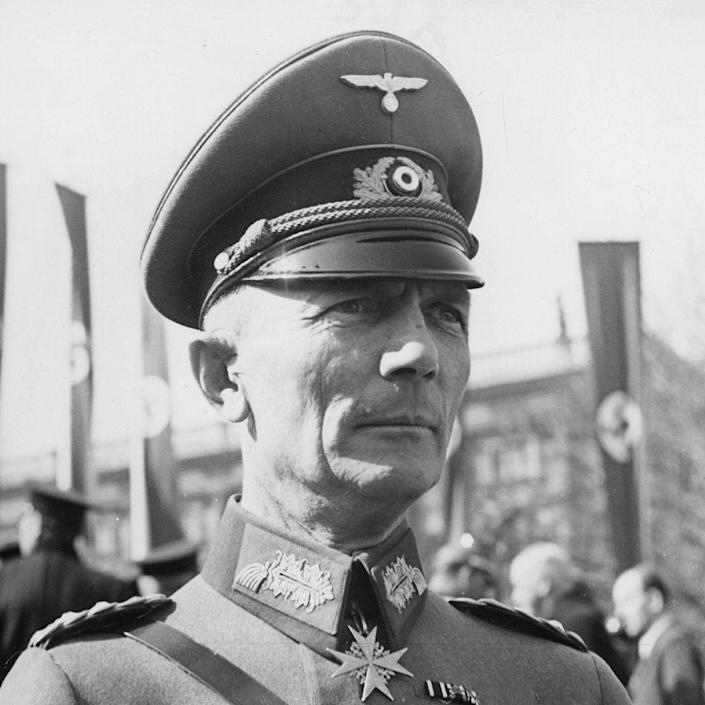 Field Marshal Fedor von Bock -  ullstein bild via Getty Images