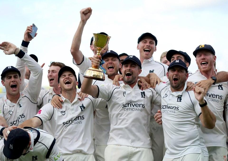 Warwickshire clinched the County Championship title (Bradley Collyer/PA) (PA Wire)