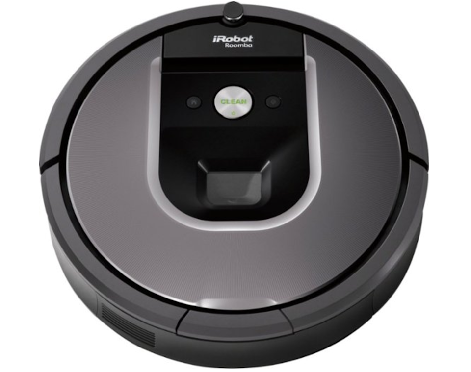 """<strong><h2><a href=""""https://www.bestbuy.com/site/irobot-roomba-960-wi-fi-connected-robot-vacuum-gray/5484900.p?skuId=5484900"""" rel=""""nofollow noopener"""" target=""""_blank"""" data-ylk=""""slk:iRobot"""" class=""""link rapid-noclick-resp"""">iRobot</a></h2></strong><br><strong>Dates:</strong> <strong>Now - September 7</strong><br>The absolute most helpful and innovative cleaning solution for those that want their housework done as quickly and efficiently as possible. Since it's connected to wifi and can be controlled from the iRobot app, Roomba can do the job for you and you don't even have to be in the house.<br><br>Additional retailers having iRobot deals include <a href=""""https://www.bestbuy.com/site/irobot-roomba-960-wi-fi-connected-robot-vacuum-gray/5484900.p?skuId=5484900"""" rel=""""nofollow noopener"""" target=""""_blank"""" data-ylk=""""slk:Best Buy"""" class=""""link rapid-noclick-resp""""><strong>Best Buy</strong></a>, <a href=""""https://www.amazon.com/gp/product/B01ID8H6NO?pf_rd_r=H533S0P6KMMGG85FEXBQ&pf_rd_p=edaba0ee-c2fe-4124-9f5d-b31d6b1bfbee"""" rel=""""nofollow noopener"""" target=""""_blank"""" data-ylk=""""slk:Amazon"""" class=""""link rapid-noclick-resp""""><strong>Amazon</strong></a>, and <a href=""""https://www.walmart.com/ip/iRobot-Roomba-960-Robot-Vacuum-Wi-Fi-Connected-Mapping-Works-with-Google-Home-Ideal-for-Pet-Hair-Carpets-Hard-Floors/54840215"""" rel=""""nofollow noopener"""" target=""""_blank"""" data-ylk=""""slk:Walmart"""" class=""""link rapid-noclick-resp""""><strong>Walmart</strong></a>.<br><br><strong>iRobot</strong> iRobot - Roomba 960 Wi-Fi Connected, $, available at <a href=""""https://go.skimresources.com/?id=30283X879131&url=https%3A%2F%2Fwww.bestbuy.com%2Fsite%2Firobot-roomba-960-wi-fi-connected-robot-vacuum-gray%2F5484900.p%3FskuId%3D5484900"""" rel=""""nofollow noopener"""" target=""""_blank"""" data-ylk=""""slk:Best Buy"""" class=""""link rapid-noclick-resp"""">Best Buy</a>"""