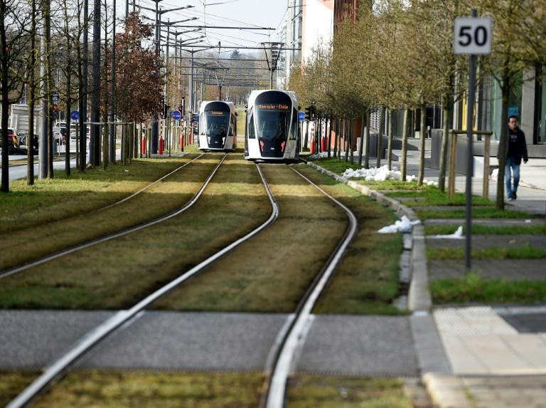 Luxembourg has invested in its public transport network, but commuters complain it is still patchy (AFP Photo/JEAN-CHRISTOPHE VERHAEGEN)