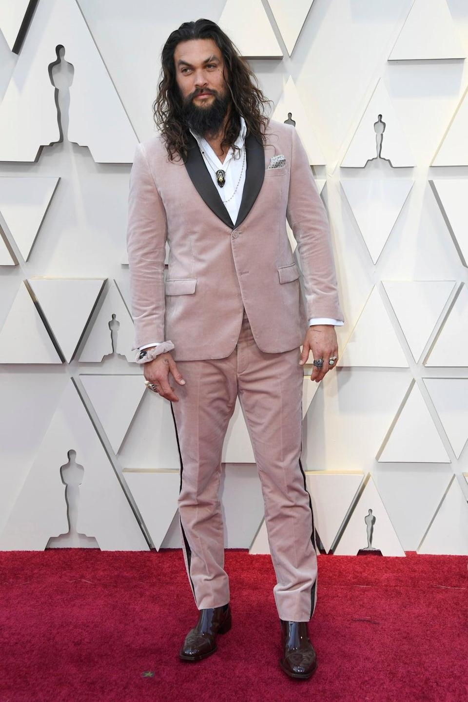 Jason Momoa at the Oscars 2019 (Getty Images)