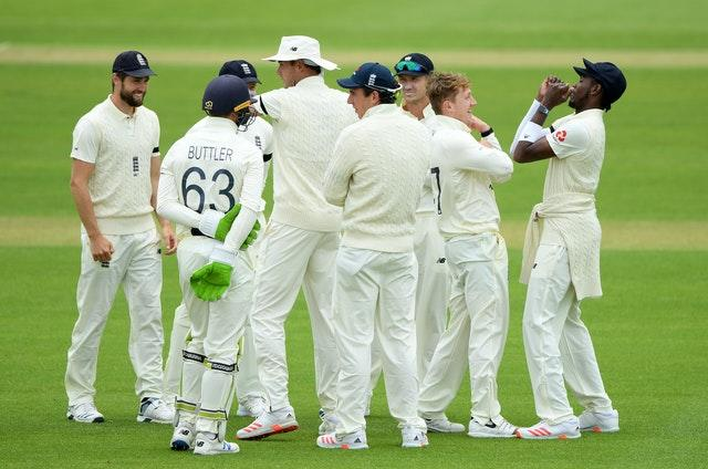 England players have been staying at Hampshire's ground
