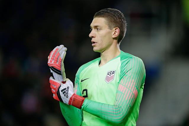Ethan Horvath will replace Sean Johnson in the U.S. goal, one of at least three lineup changes coach Gregg Berhalter is expected to make. (Eric Verhoeven/Getty)