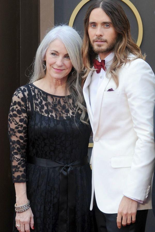 """<p>After seeing Jared with Constance Leto at the 2014 Academy Awards, there's one thing we know for sure: he gets <a href=""""https://www.redbookmag.com/beauty/hair/advice/g243/wavy-hair-how-to-hairstyles/"""" rel=""""nofollow noopener"""" target=""""_blank"""" data-ylk=""""slk:that luscious hair"""" class=""""link rapid-noclick-resp"""">that luscious hair</a> from mom. </p>"""