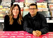 HULL, ENGLAND - JULY 25: Paul Heaton and Jacqui Abbott perform live and sign copies of their new album 'Crooked Calypso' during an in-store session at HMV Hull on July 25, 2017 in Hull, England. (Photo by Shirlaine Forrest/WireImage)