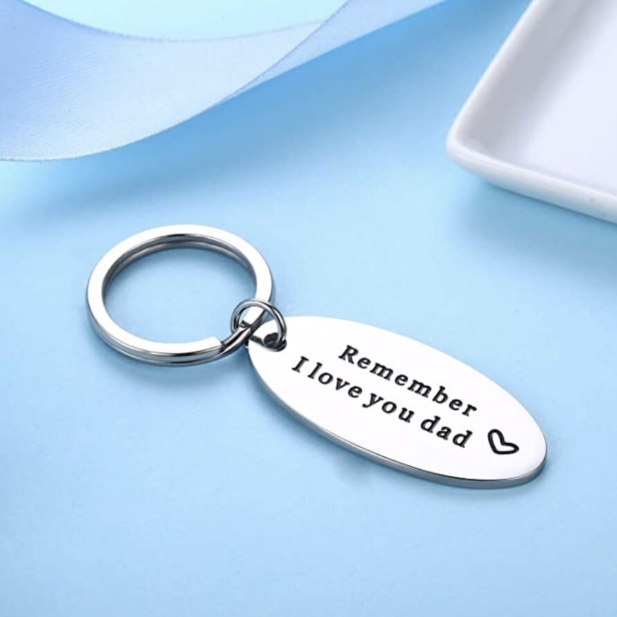 Love You Dad Keychain