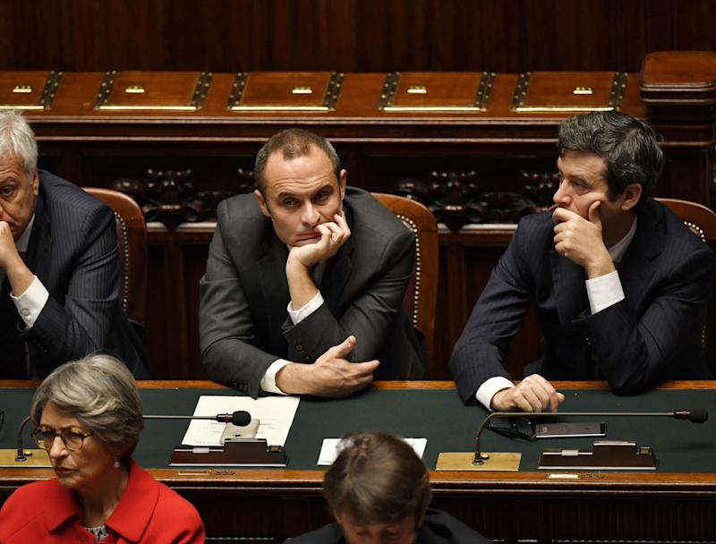 Justice Minister Andrea Orlando (right) has asked for an investigation into the case: AFP/Getty Images