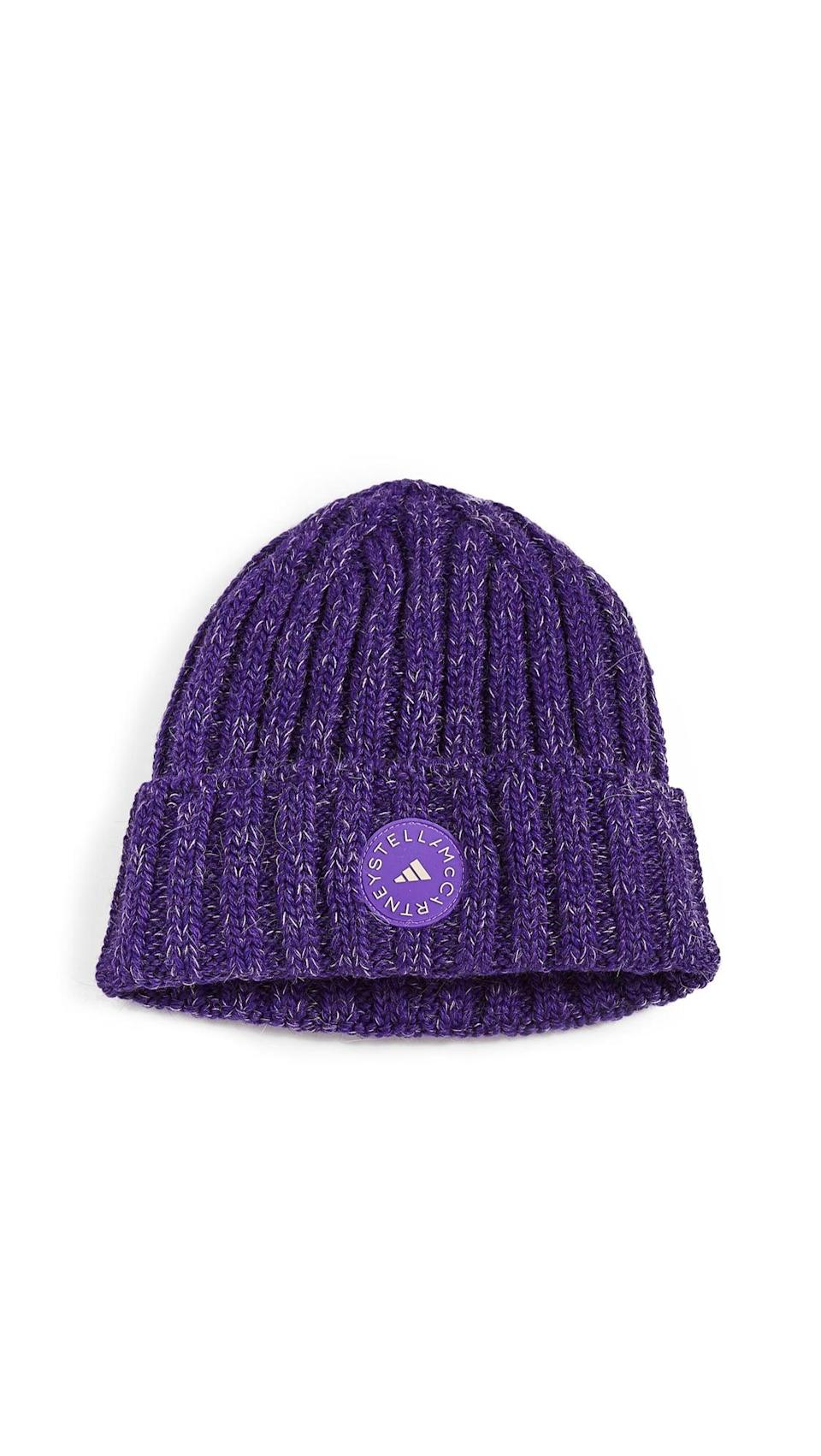 <p><span>Adidas by Stella McCartney Beanie Hat</span> ($57)</p>