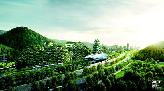 An electric railway will link the 'forest city' to the main Liuzhou city.