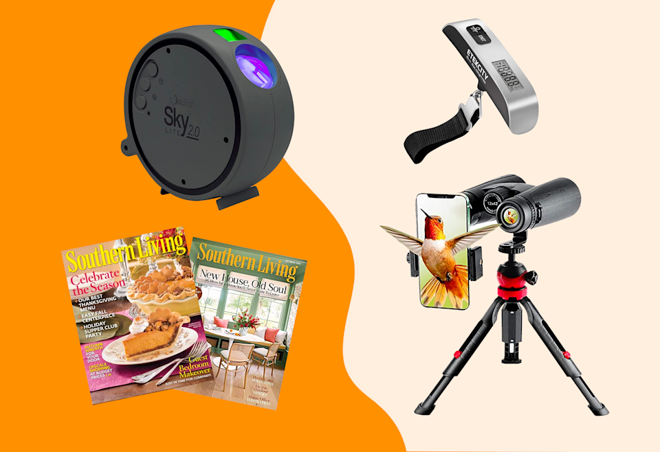 Shop Amazon markdowns on a magazine subscription, luggage scale, star projector, pair of binoculars and more.