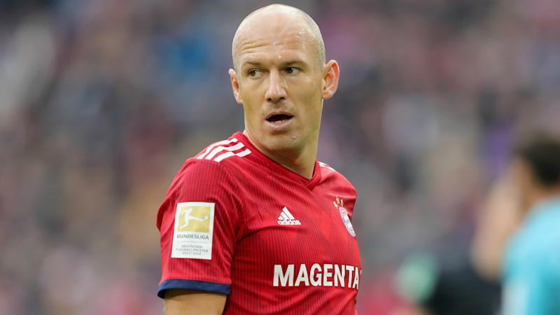 Robben ruled out until 2019 as Bayern seek to avoid serious injury