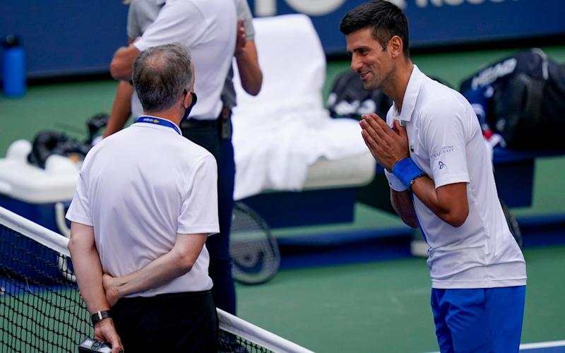 The world No1 pleads his case as US Open organisers decide to default him from the competition - AP