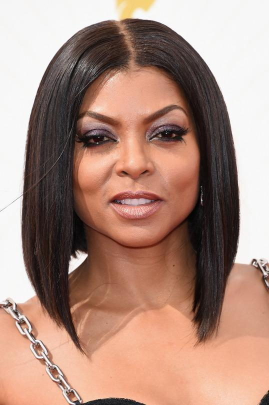 <p>The woman behind Cookie Lyon killed it on the red carpet with a sleek asymmetrical bob. <i>(Photo: Getty Images)</i></p>