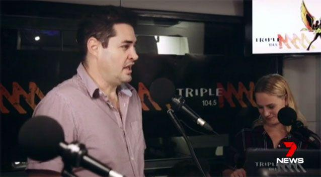 Lambert shared his radio gig with league legend Wally Lewis. Source: 7News