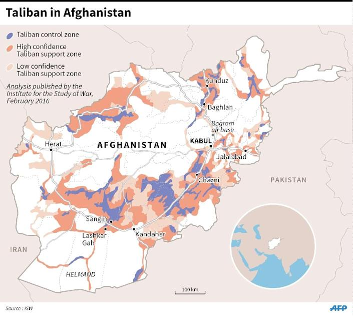 The Taliban remain a major threat in Afghanistan (AFP Photo/)