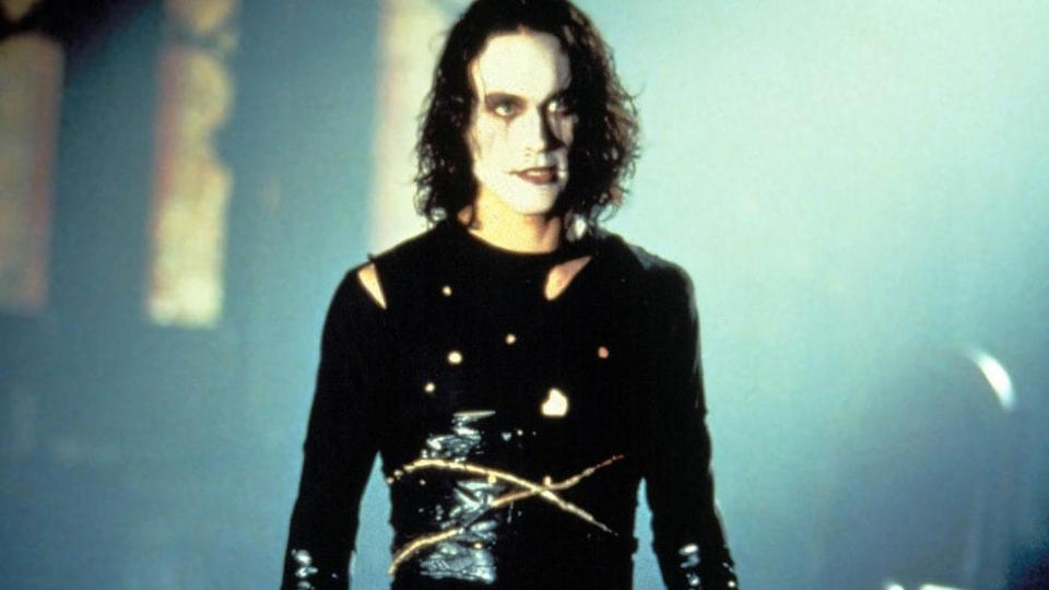 Brandon Lee died in 1993 after an accident on the set of comic book adaptation 'The Crow'. (Credit: Miramax)