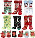<p>Stay cozy and in the holiday spirit with the<span>Holiday Christmas Slipper Socks</span> ($15).</p>