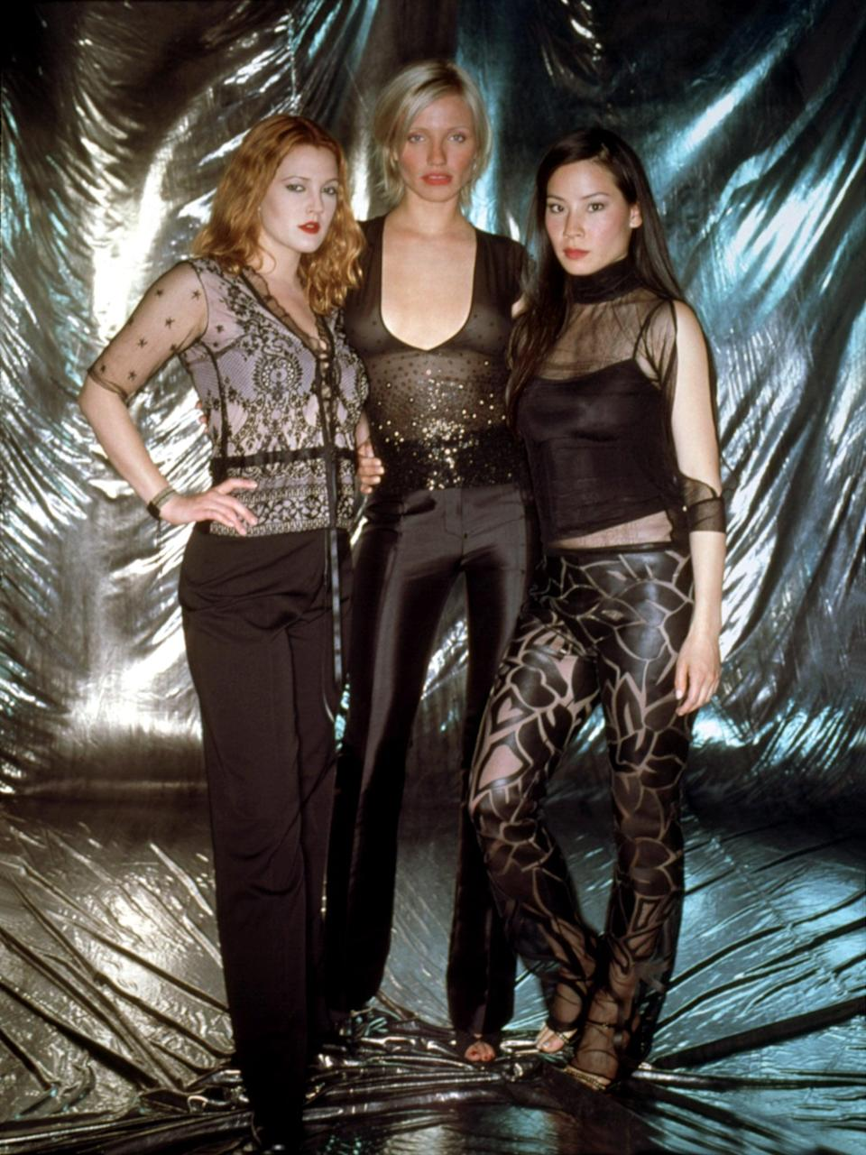 <p>We love the coordinated black looks that are stylish, sheer, and sexy.</p>