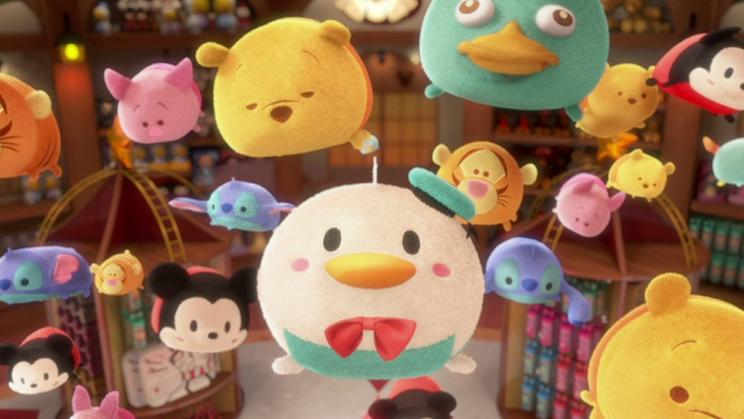 Disney's Tsum Tsum (Photo credit 妞新聞)