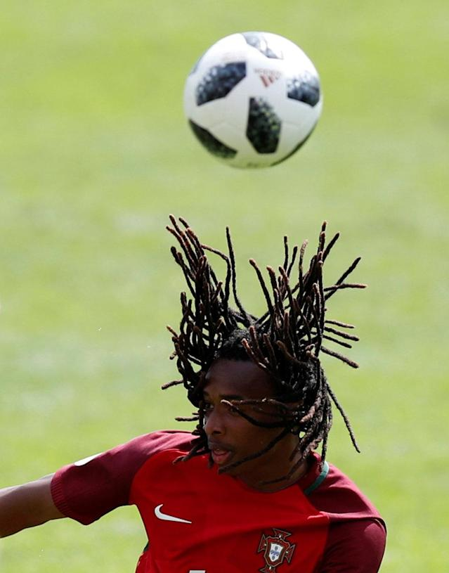 Soccer Football - UEFA European Under-17 Championship - Group B - Portugal v Norway - The Banks's Stadium, Walsall, Britain - May 4, 2018 Portugal's Jair Tavares in action Action Images via Reuters/Peter Cziborra