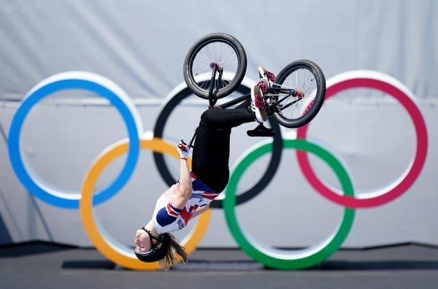 Great Britain's Charlotte Worthington in action