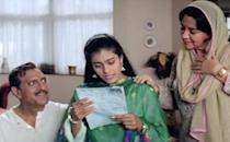 <p>The 90s saw mothers in a happier avatar, with the lovable Farida Jalal and Reema Lagoo leading the pack. While Jalal played the supportive mother=best friend role to perfection in films such as Dilwale Dulhaniya Le Jayenge and Kuch Kuch Hota Hai, Reema Lagoo was the typical Sooraj Barjatya mother – traditional, warm and full of values. However, the 1999 film Vaastav where she portrayed the role of Shanta, a mother who kills her own wayward son, saw Lagoo break away from the typecast. </p>