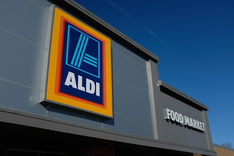 Image of Aldi store where Special Buys have prompted outrage during social distancing