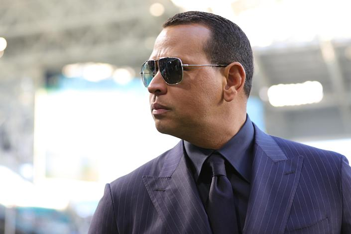 Alex Rodriguez trying to become an MLB owner while telling MLB players to cooperate with ownership is not a good look. (Photo by Maddie Meyer/Getty Images)