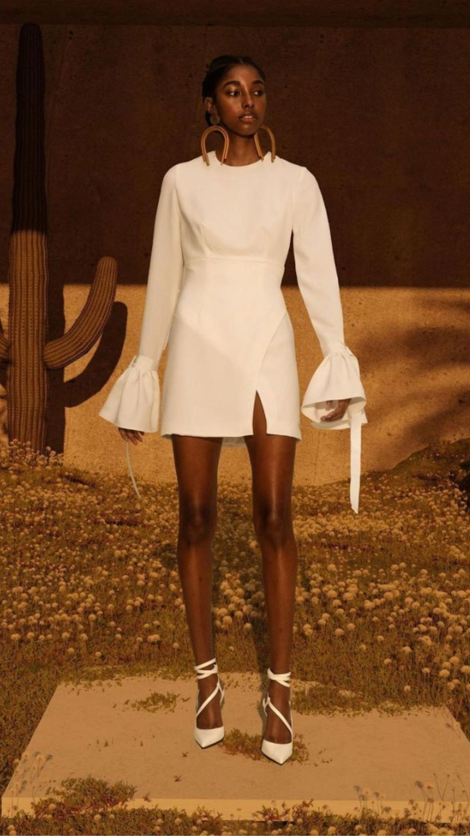 israella KOBLA creates made-to-order fashions - like the ZOLA dress, $430.