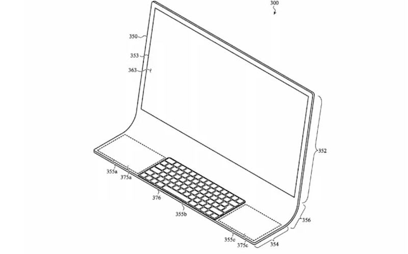 The patent hints at an 'all glass' machine (USPTO)