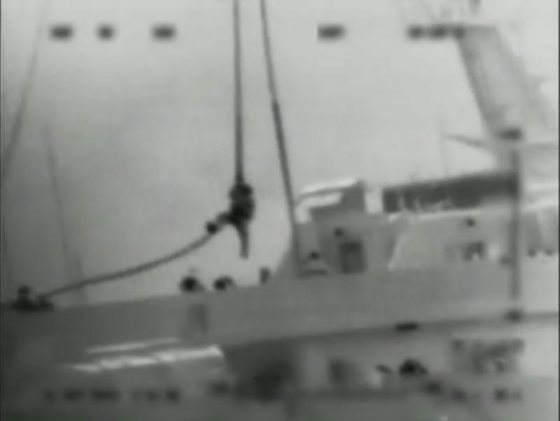 "FILE - This file image made from video provided by the Israeli Defence Force on Monday, May 31, 2010 shows what the IDF says is one of several commandos being dropped onto the Mavi Marmara ship by helicopter in the Mediterranean Sea. An Israeli inquiry commission is defending the actions of its troops during last year's deadly raid on a Gaza-bound protest flotilla sailing from Turkey. The nearly 300-page reported released Sunday Jan. 23, 2011 by the government-appointed commission says the actions of the soldiers ""were found to be legal pursuant to the rules of international law.""   (AP Photo/Israel Defence Force, File)  AP HAS NO WAY OF INDEPENDENTLY VERIFYING THE AUTHENTICITY OF THE VIDEO PROVIDED BY THE ISRAELI DEFENCE FORCE"