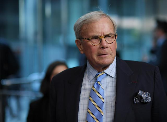 """Tom Brokaw attends the """"Five Came Back"""" world premiere at Alice Tully Hall at Lincoln Center on March 27, 2017 in New York City. (Photo: Mike Coppola/Getty Images)"""