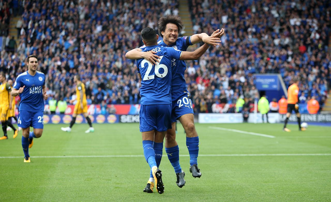 Mahrez back at his inspirational best as Leicester City get three points on the board