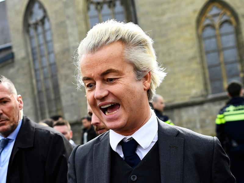Polls show support for Mr Wilders' PVV party remains high among some ethnic groups in the Netherlands: Reuters