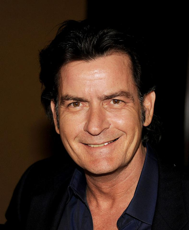 "<a href=""/charlie-sheen/contributor/29262"">Charlie Sheen</a> (""Anger Management"") attends the 2012 Fox Winter TCA All-Star Party at Castle Green on January 8, 2012 in Pasadena, California."
