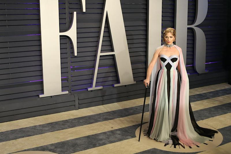 Selma Blair at the 2019 Vanity Fair Oscar Party at The Wallis Annenberg Center for the Performing Arts on February 24, 2019 in Beverly Hills, CA